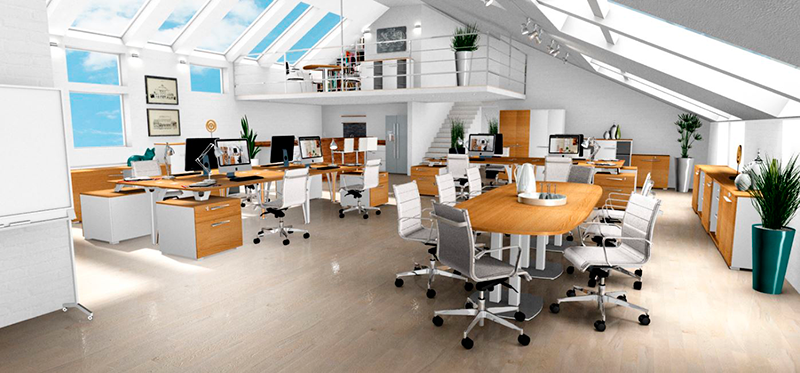 3d office design program gautier office Office design 3d